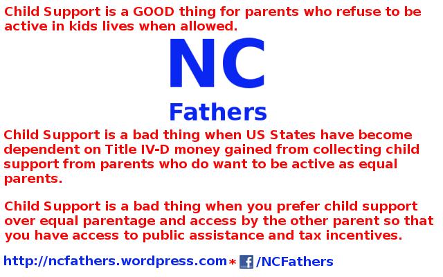 NC Father Contempt violations