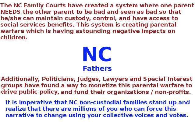 Republicans and the family courts