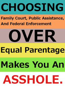 National Child Support Enforcement Association and Dads