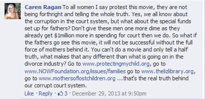 Caren Ragan, angry mother and activist