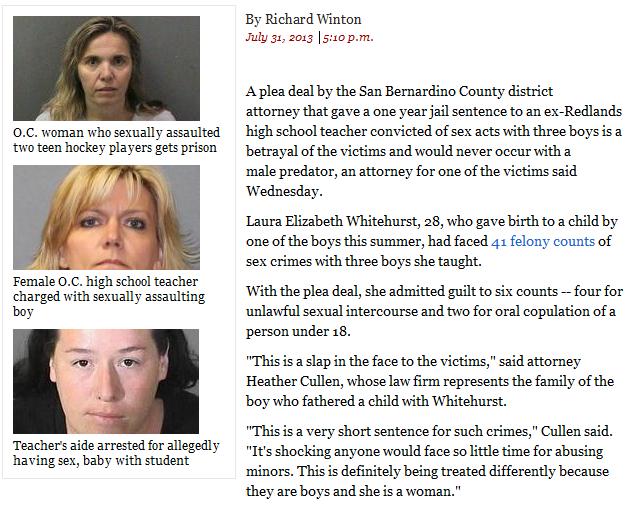 sexual assault by women